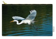 Lucky Egret Carry-all Pouch