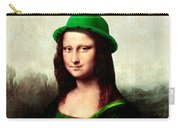 Lucky Mona Lisa Carry-all Pouch