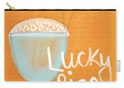 Lucky Rice Carry-all Pouch by Linda Woods