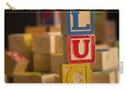 Lucy - Alphabet Blocks Carry-all Pouch