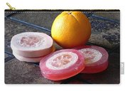 Luffa Red And Pink Soap Carry-all Pouch