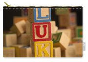 Luke - Alphabet Blocks Carry-all Pouch
