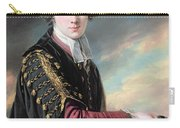 Luke Gardiner 1745-98 Oil On Canvas Carry-all Pouch