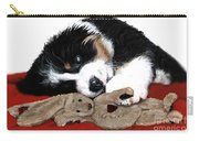 Lullaby Berner And Bunny Carry-all Pouch by Liane Weyers