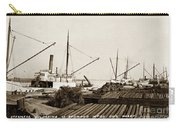 Lumber Steamers Unloading At Redwood Mfg. Co.s Wharf Pittsburg Circa 1920 Carry-all Pouch