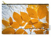 Luminescent Leaves Carry-all Pouch