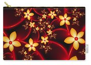 Luminous Fantasy Flowers Carry-all Pouch