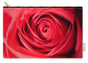 Luminous Red Rose 7 Carry-all Pouch