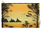Luminous Sunset Carry-all Pouch by James Williamson