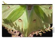 Luna Moth Faux Eyes Carry-all Pouch