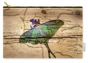 Luna Moth Worm Wood  Carry-all Pouch