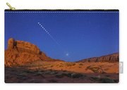 Lunar Eclipse Sequence From Monument Carry-all Pouch
