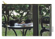Lunch Guests Al Fresco Carry-all Pouch