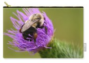 Lunching Atop A Thistle Carry-all Pouch