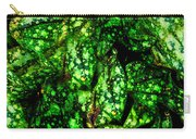 Lungwort Leaves Abstract Carry-all Pouch
