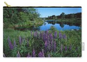 Lupin And Lake Carry-all Pouch