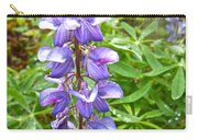 Lupine Along Trail To Rancheria Falls In Yk-canada   Carry-all Pouch