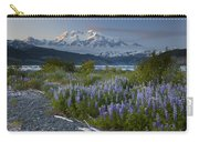 Lupine And Mount Elias Carry-all Pouch