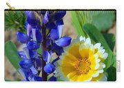 Lupine And Tidy Tip Carry-all Pouch