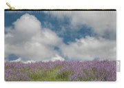Lupine Field Under Clouds Carry-all Pouch