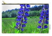 Lupine Flower Carry-all Pouch