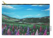 Lupine Hills Carry-all Pouch