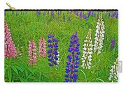 Lupine On Campobello Island-nb Carry-all Pouch