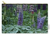 Lupines In The Rain Carry-all Pouch