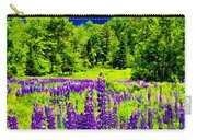 Lupines Light Carry-all Pouch