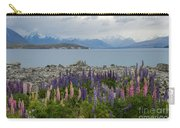 Lupins By The Lake Carry-all Pouch