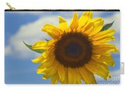 Lus Na Greine - Sunflower On Blue Sky Carry-all Pouch