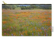 Luscious Spring Wildflowers Carry-all Pouch