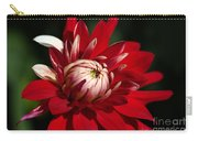Lush Red Dahlia Carry-all Pouch