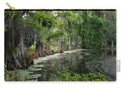 Lush Swamp Vegetation Carry-all Pouch