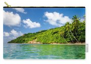 Lush Tropical Coast Carry-all Pouch