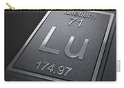Lutetium Chemical Element Carry-all Pouch