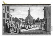 Lutheran Wedding, 1700s Carry-all Pouch by Granger