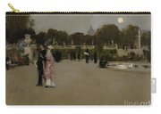 Luxembourg Gardens At Twilight Carry-all Pouch by John Singer Sargent
