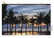 Luxury Infinity Pool At Sunset Carry-all Pouch
