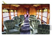 Luxury Lounge Car Of Early Railroading Carry-all Pouch