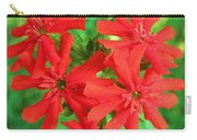 Lychnis Heart Carry-all Pouch