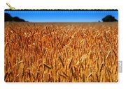 Lying In The Rye Carry-all Pouch by Karen Wiles