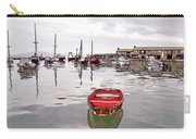Lyme Regis Harbour Abstract Carry-all Pouch