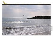 Lyme Regis Seascape - March Carry-all Pouch