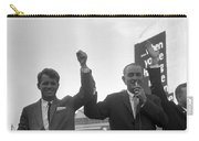 Lyndon Johnson With Robert Kennedy Carry-all Pouch
