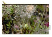 Lynx Spider And Young Carry-all Pouch