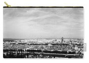 Lyon From The Basilique De Fourviere-bw Carry-all Pouch
