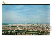 Lyon From The Basilique De Fourviere-color Carry-all Pouch
