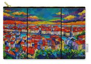 Lyon Panorama Triptych Carry-all Pouch