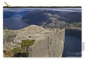 Lysefjord With Prekestolen Carry-all Pouch